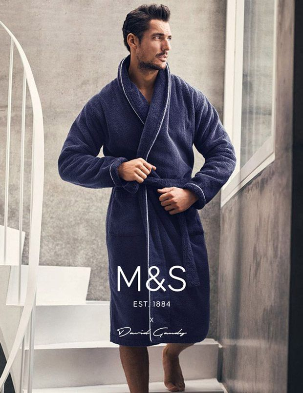 David Gandy Nightwear for Marks and Spencer Fall Winter 2016 Campaign