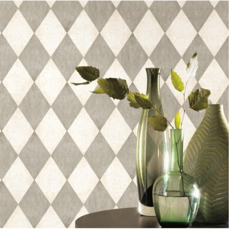 Distressed Harlequin Wallpaper (With images) Harlequin