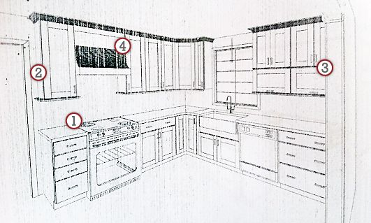 One Bloggeru0027s Experience With A Design For KraftMaid Cabinets From Loweu0027s