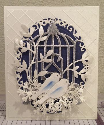 Abby's Wedding Card -- nice design for any type of wedding.