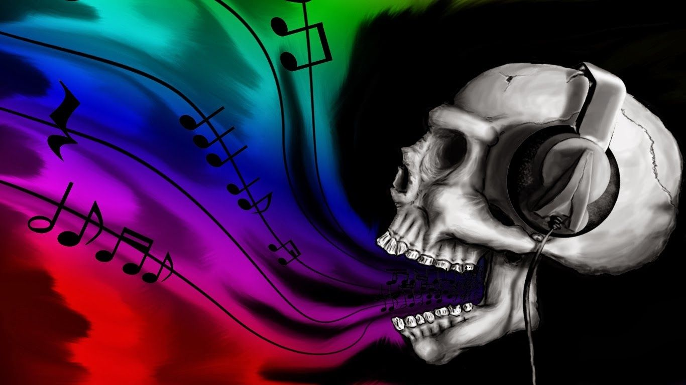 Skulls Gothic Girl Hd Wallpapers Blog Emo punk