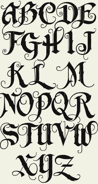 Letterhead Fonts LHF Unlovable Old English