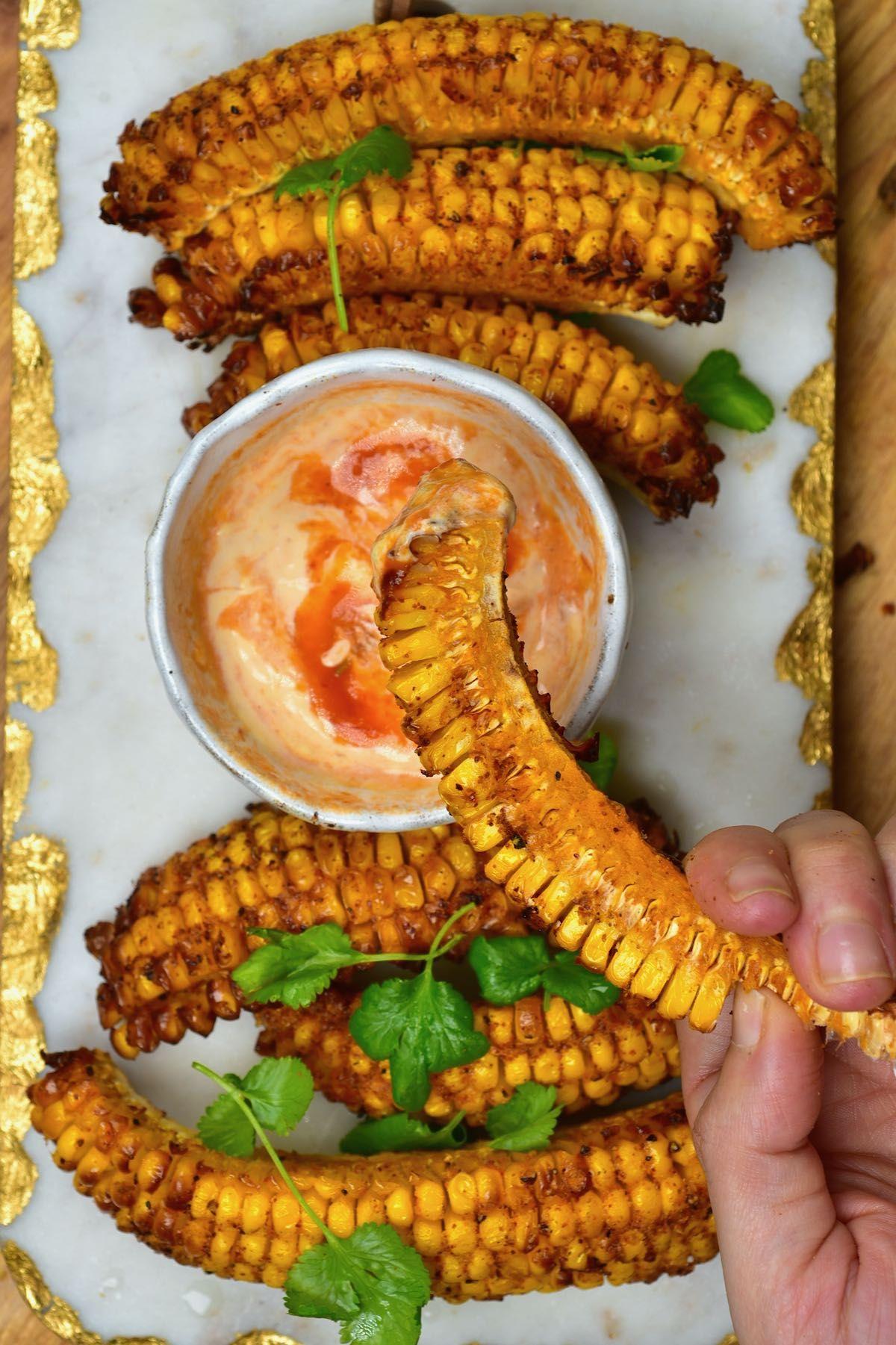 How To Make Spiced Corn Ribs (Corn 'Riblets')