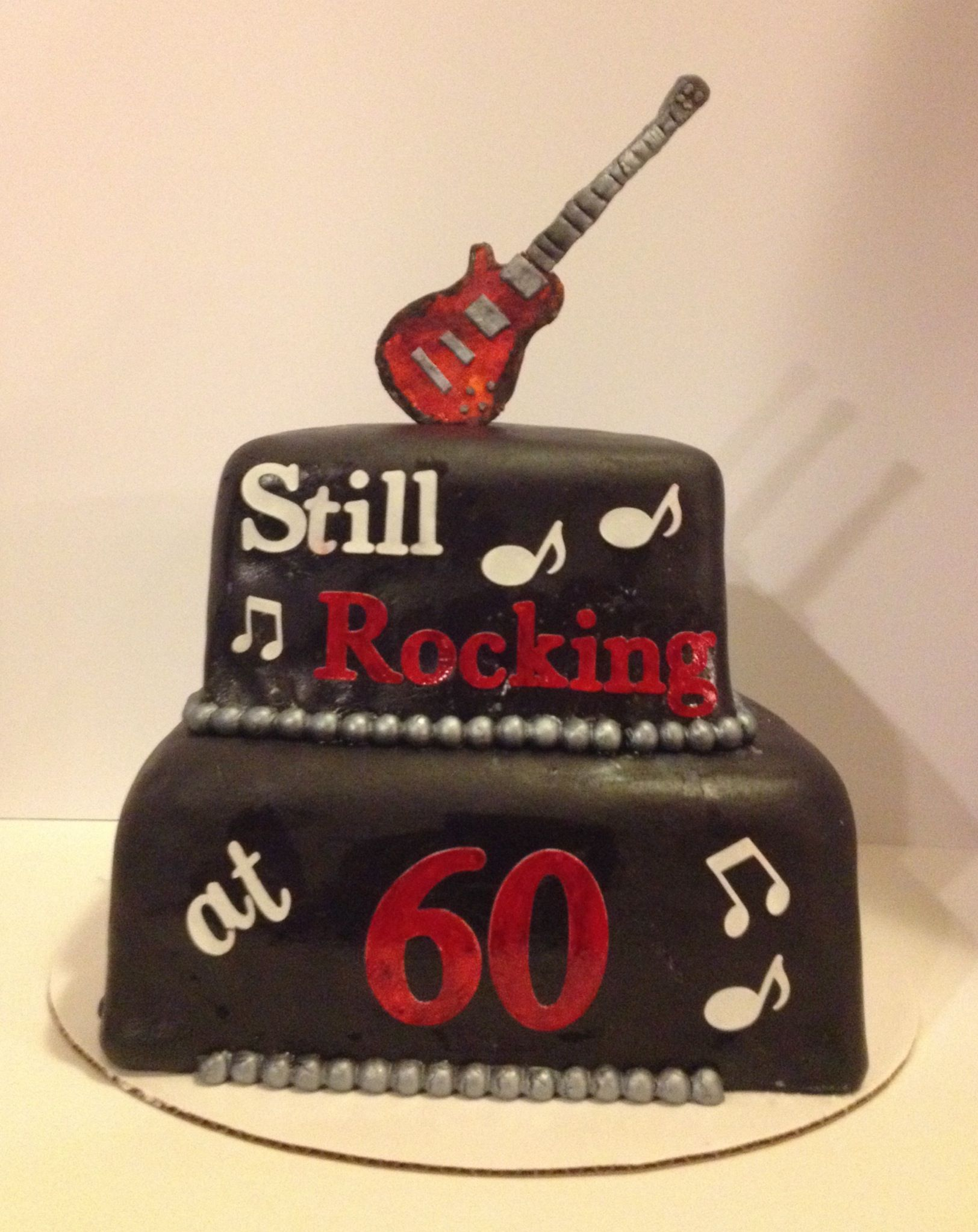 Rock N Roll Cake Sugar Sister Cakes In 2019 Pinterest Birthday