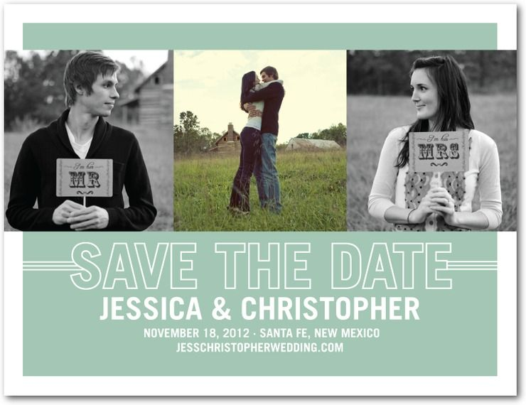 Sweet Photostrip Save The Date By Wedding Paper Divas