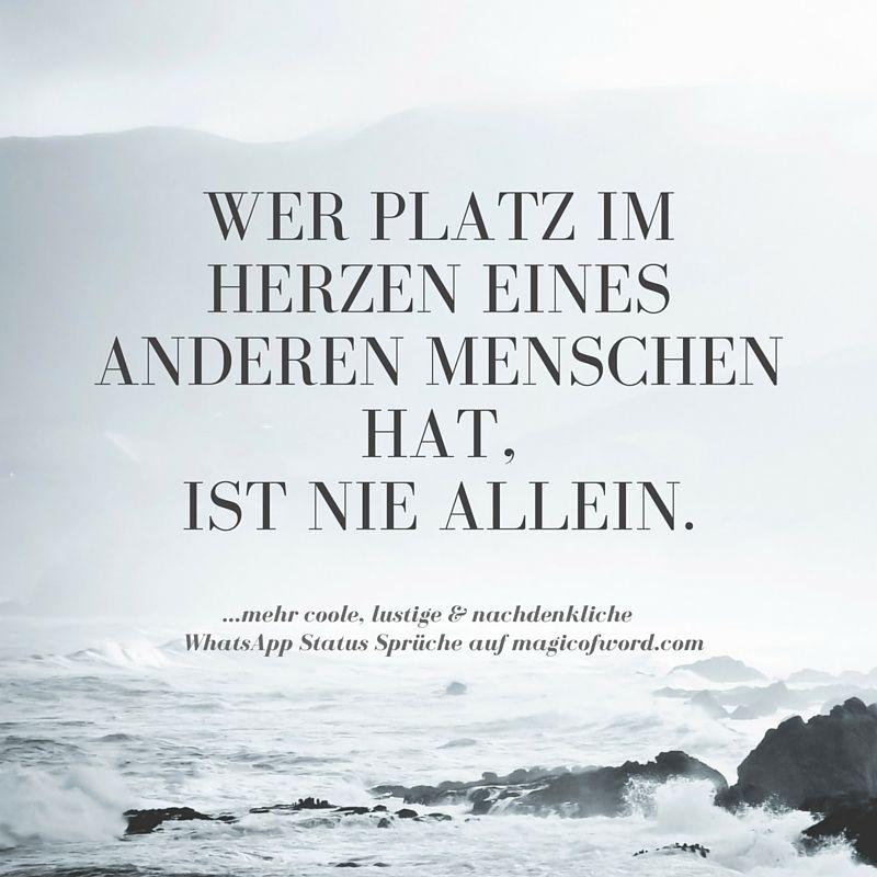 Pin Von Heidrun Klawe Auf Zitate Pinterest Whatsapp Status