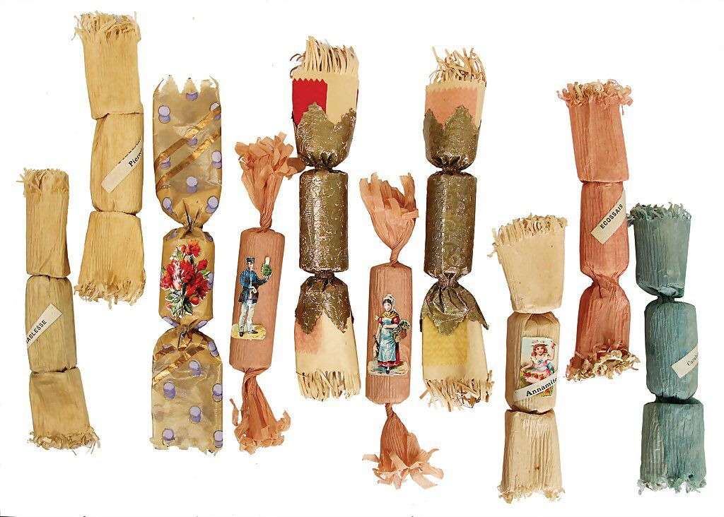 Antique Christmas crackers | Antique Victorian Christmas Crackers ...