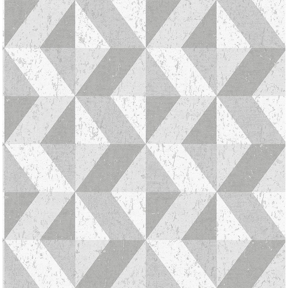 A Street 56 4 Sq Ft Cerium Grey Concrete Geometric Wallpaper Geometric Wallpaper Geometric Wallpaper Grey Concrete Wallpaper