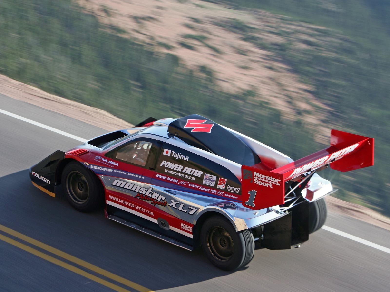 2007 Suzuki Sport Xl7 Hill Climb Special Pikes Peak Race Racing G