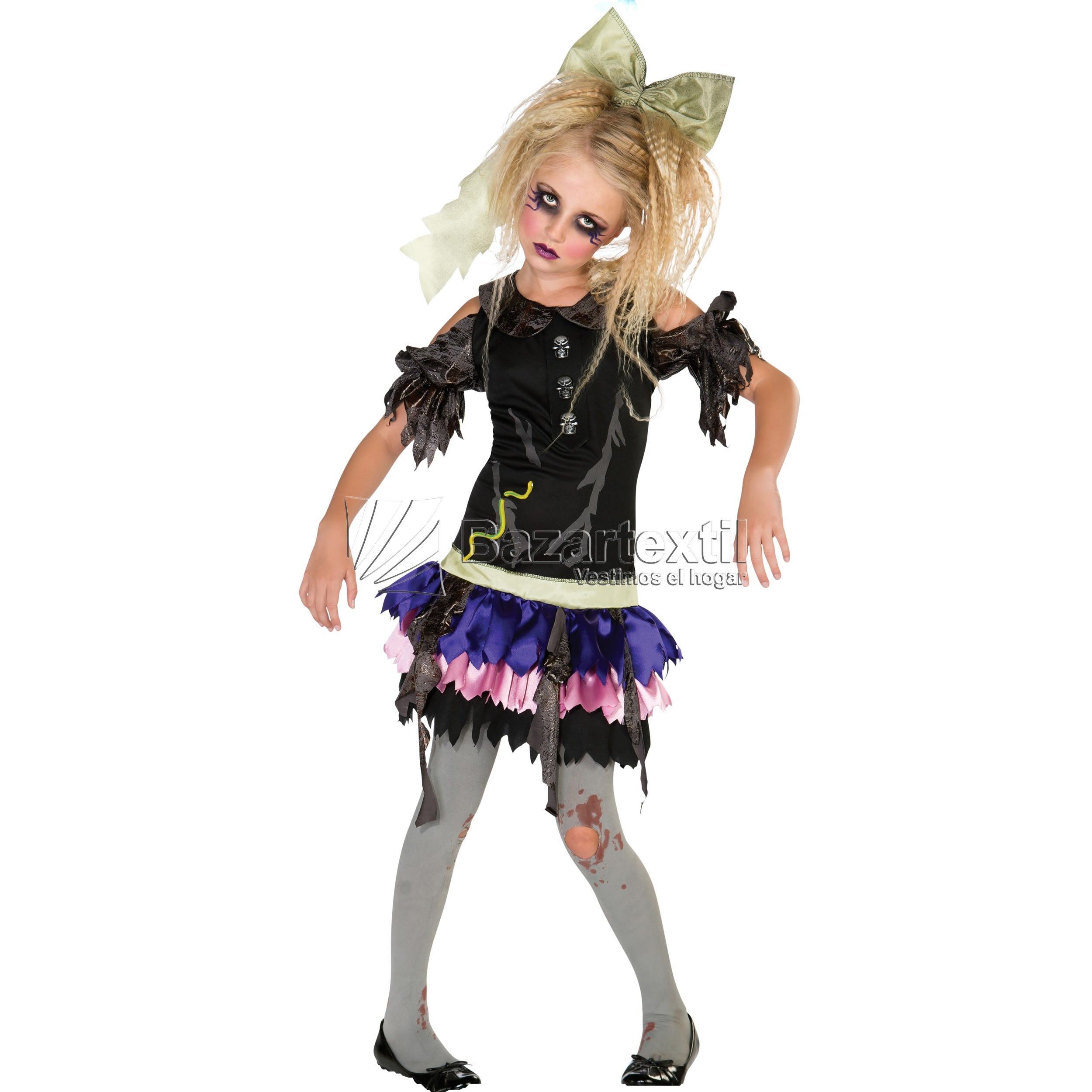 Disfraz Zombie Doll Halloween Trajes de zombie para