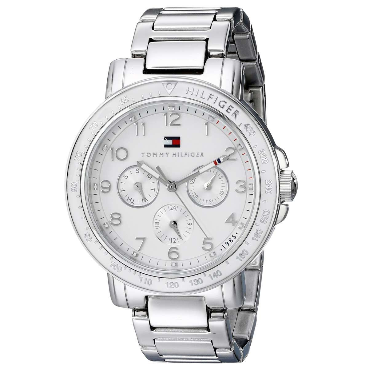 Tommy Hilfiger 1781515 Women's Sport White Dial Stainless