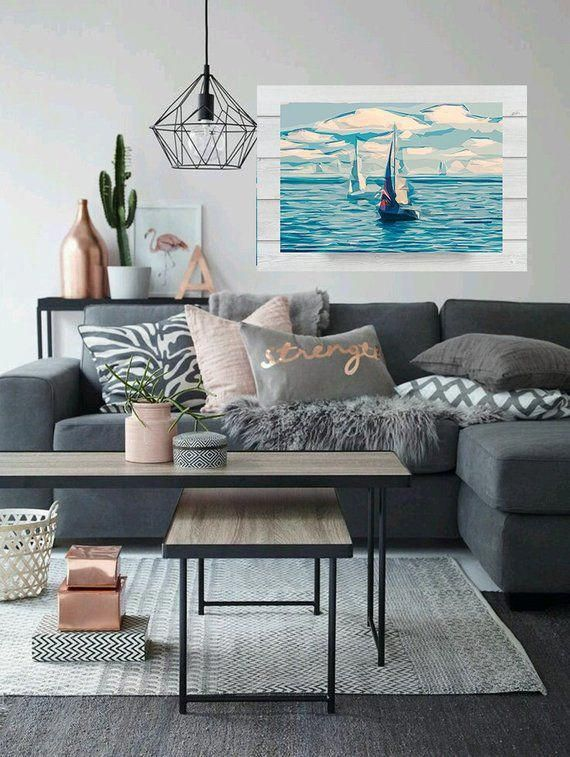 Home ideas sailboat wall art boats sailing sea ocean nautical also best images in rh pinterest