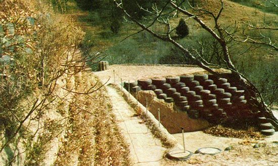 I Built Terraced Retaining Walls With Old Tires - Homesteading and ...