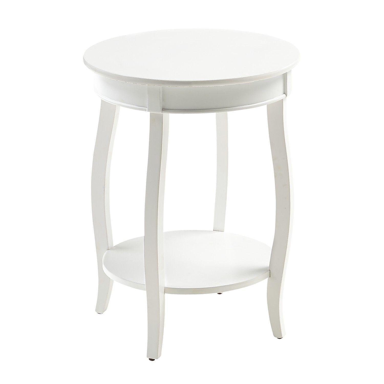 Round White Wood End Table Pier 1 Imports White End Tables White Round Tables Wood Accent Table