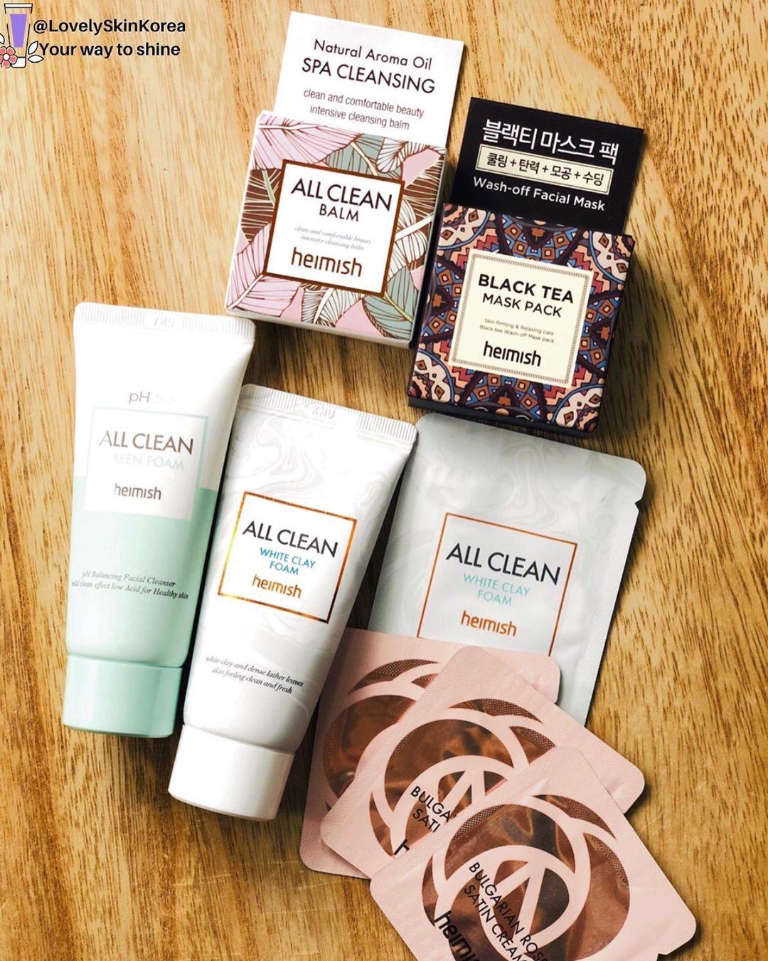 Skin Beauty Korea в Instagram «Heimish All Clean Mini Kit