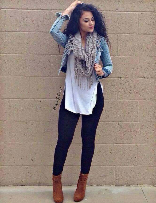 14 casual spring outfits with leggings that you can wear every day - Page 8 of 14 2