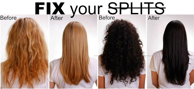 Get Rid Of Split Ends Without Trimming With 2 Ingredients Hair Beauty Natural Hair Styles Hair Hacks