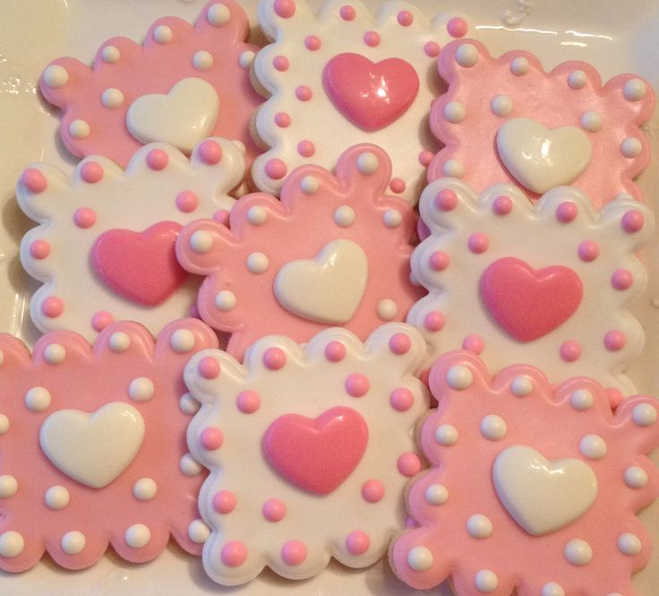 Valentine Cookies | Beautiful Cookies. Cookie DecoratingDecorating  IdeasValentines ...
