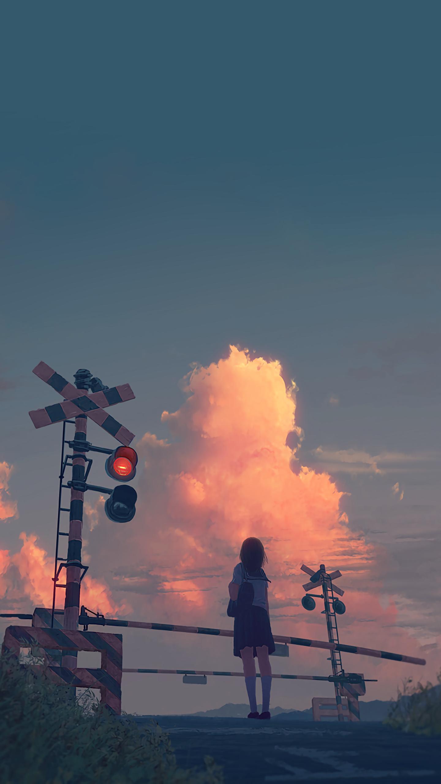 Pin Oleh Ash Di Gamersky Wallpaper Pemandangan Anime Pemandangan Ilustrasi Alam