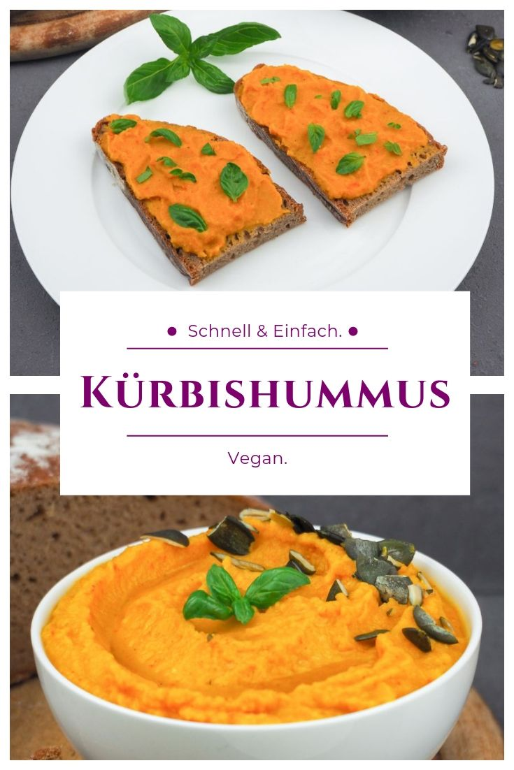 Photo of Kürbis – Hummus (vegan)