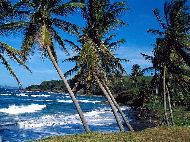 Summer Waves, St. Lucia, via Flickr.