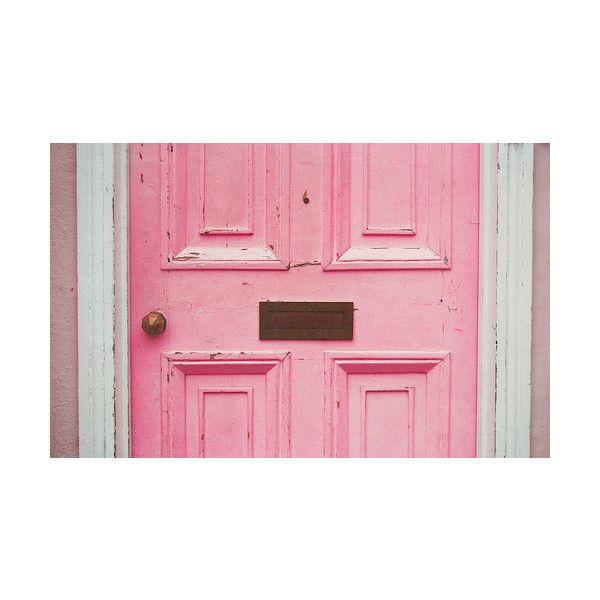 Weathered Pink Door