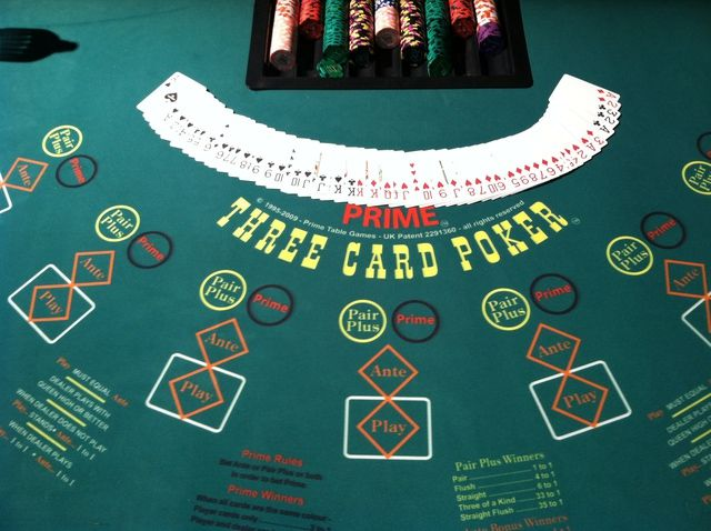 Learn How To Playthree Card Poker Poker Cards Play
