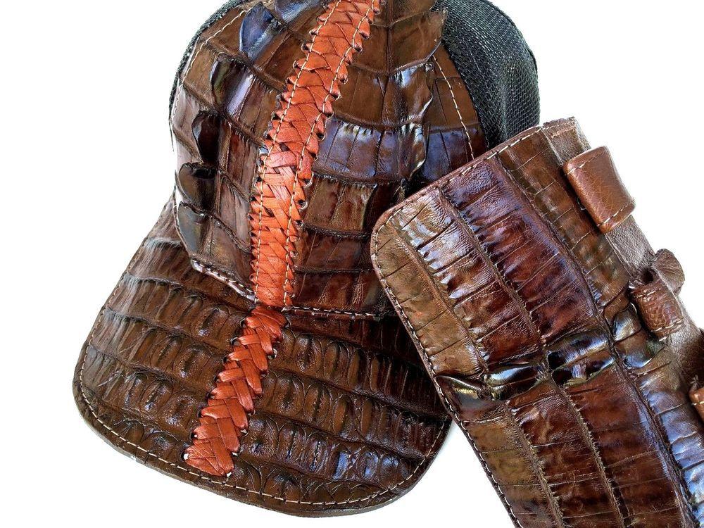 LUXURY ALIGATOR HAT&PHON BAG(GENUIN SKIN)FISHNET,BEST GIFT 2 LOVE;;GIVALDI =5466 #GivaldiofItaly #MACHINGHATPHONBAGBELT