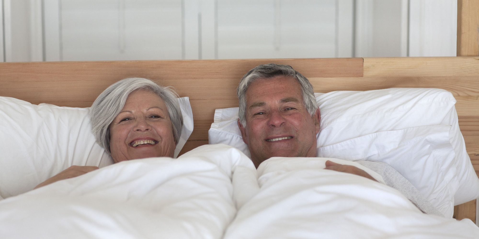 image Middle age couple in the bedroom