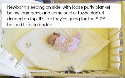 how to get 3 month old to sleep in crib