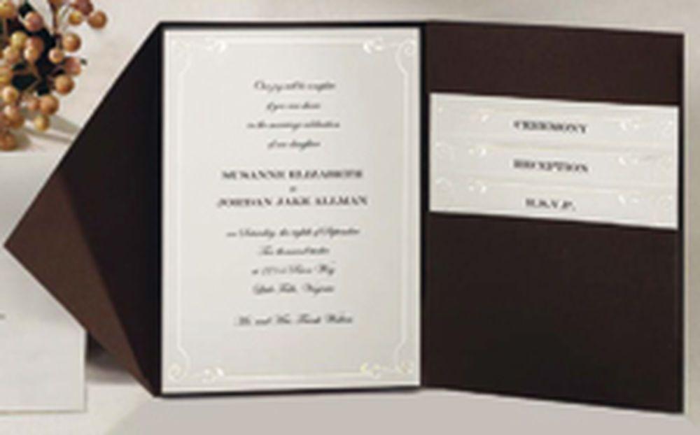Wilton Wedding Invitation Kit Template Pocket Wedding Invitations Wedding Invitation Kits Diy Wedding Invitation Kits