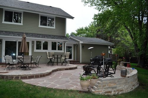 2-level patio | Landscaping @ Gardening | Patios, Outdoor ... on 2 Level Backyard Ideas id=18907