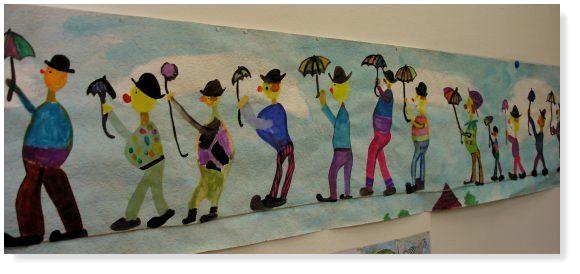 #karneval basteln kindern grundschule