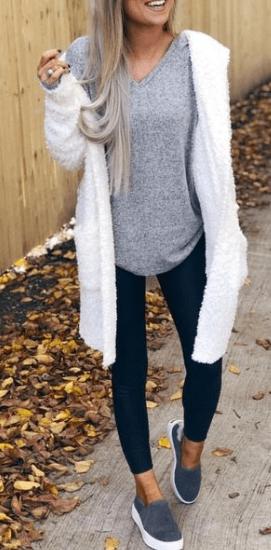 30 Amazing Fashion Ideas to Stay Shining On Fall #casualfashion