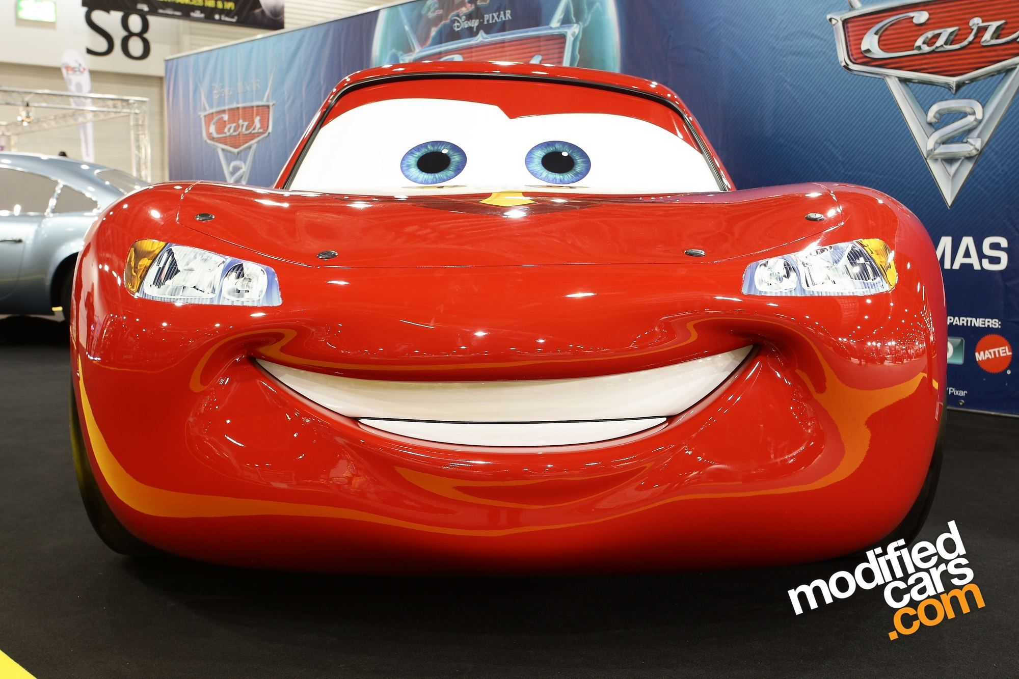 Lightning Mcqueen Top View Movie cars wallpaper for free