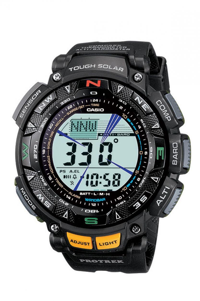 Casio Pro Trek Prg 240 1dr Kol Saati Relojes De Lujo Relojes Deportivos Caras De Reloj
