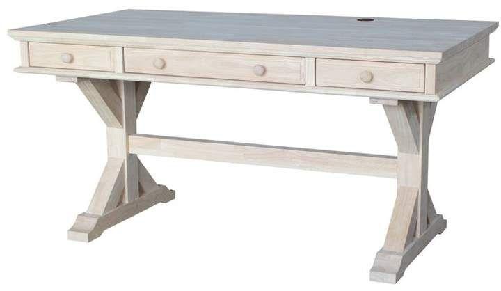 Brenden Solid Wood Desk Joss Main Wood Computer Desk Desk Computer Desk