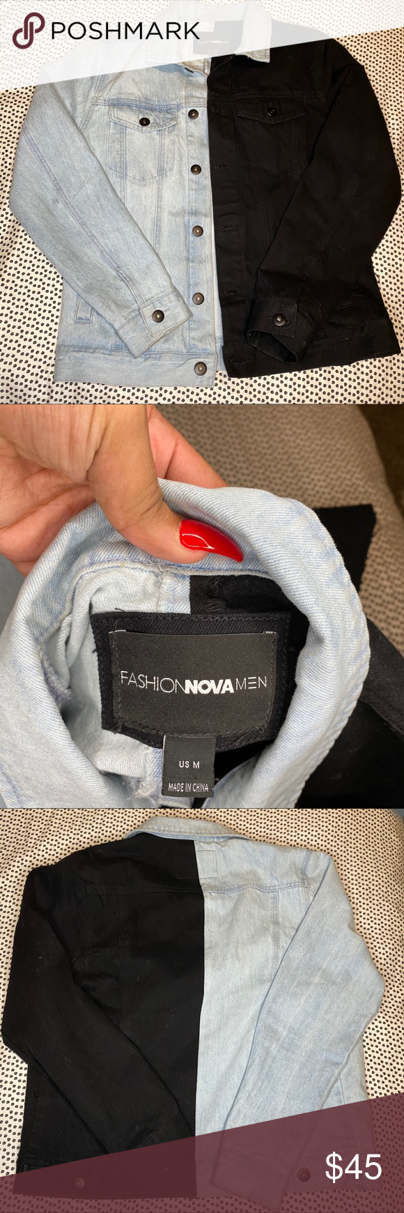 Fashion Nova Men S Two Tone Denim Jacket Medium Fashion Nova Men Two Tone Denim Jacket Size Medium Excellen Womens Fashion Shopping Fashion Shop Mens Fashion [ 1740 x 580 Pixel ]
