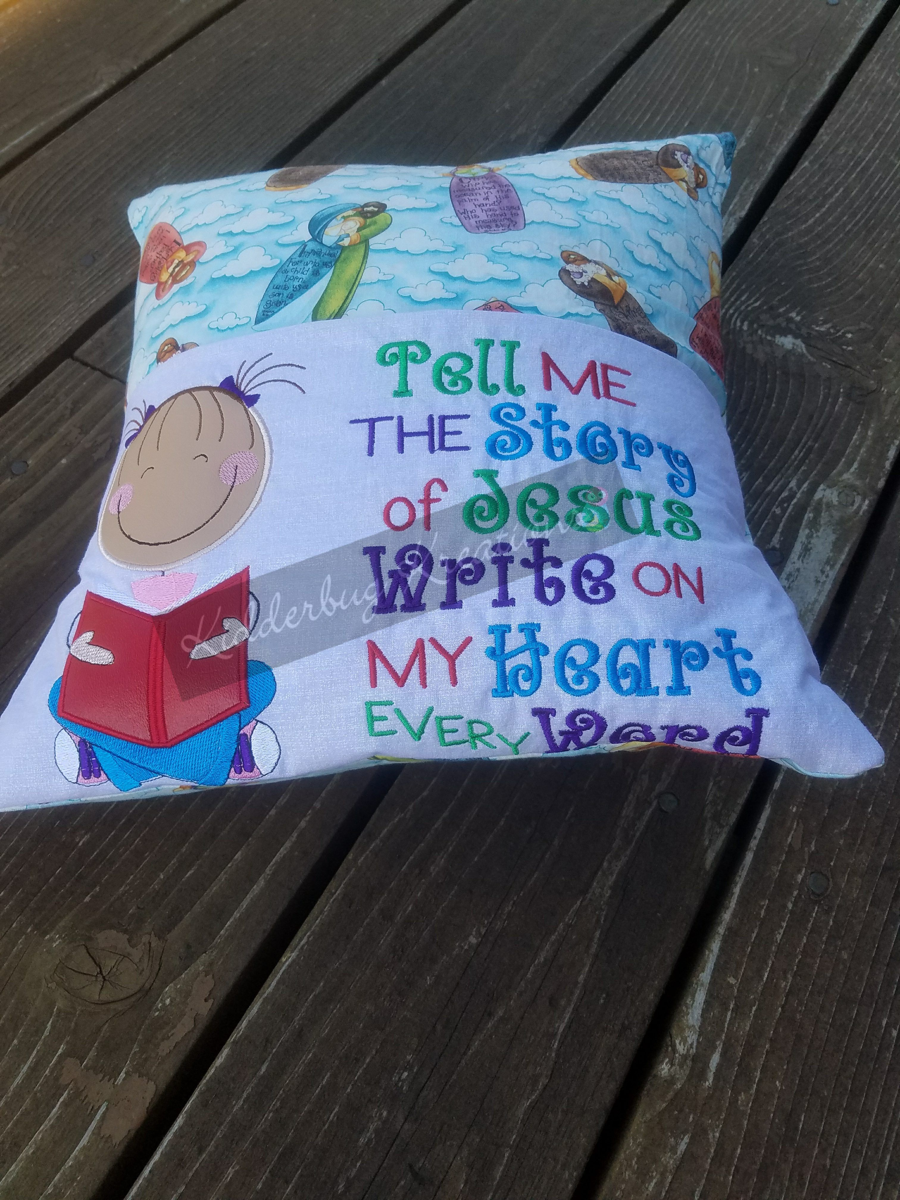 me pin story pillow the blogs reading tell girl of pocket mommy catholic jesus
