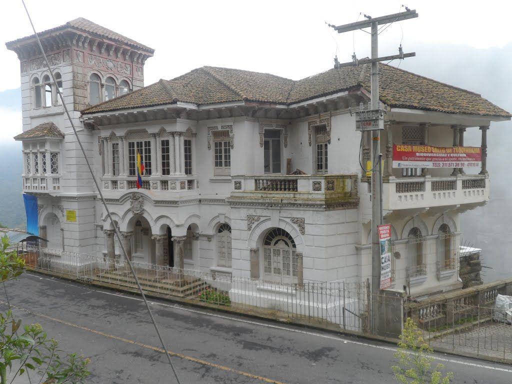 Casa museo salto del tequendama antiguo hotel san antonio del tequendama pinterest san - Casas del salto ...