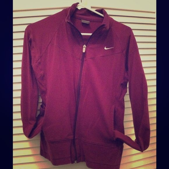 Nike jacket bundle 2 Nike jackets! One dri fit & the other jersey tee material. Priced to sell Nike Jackets & Coats