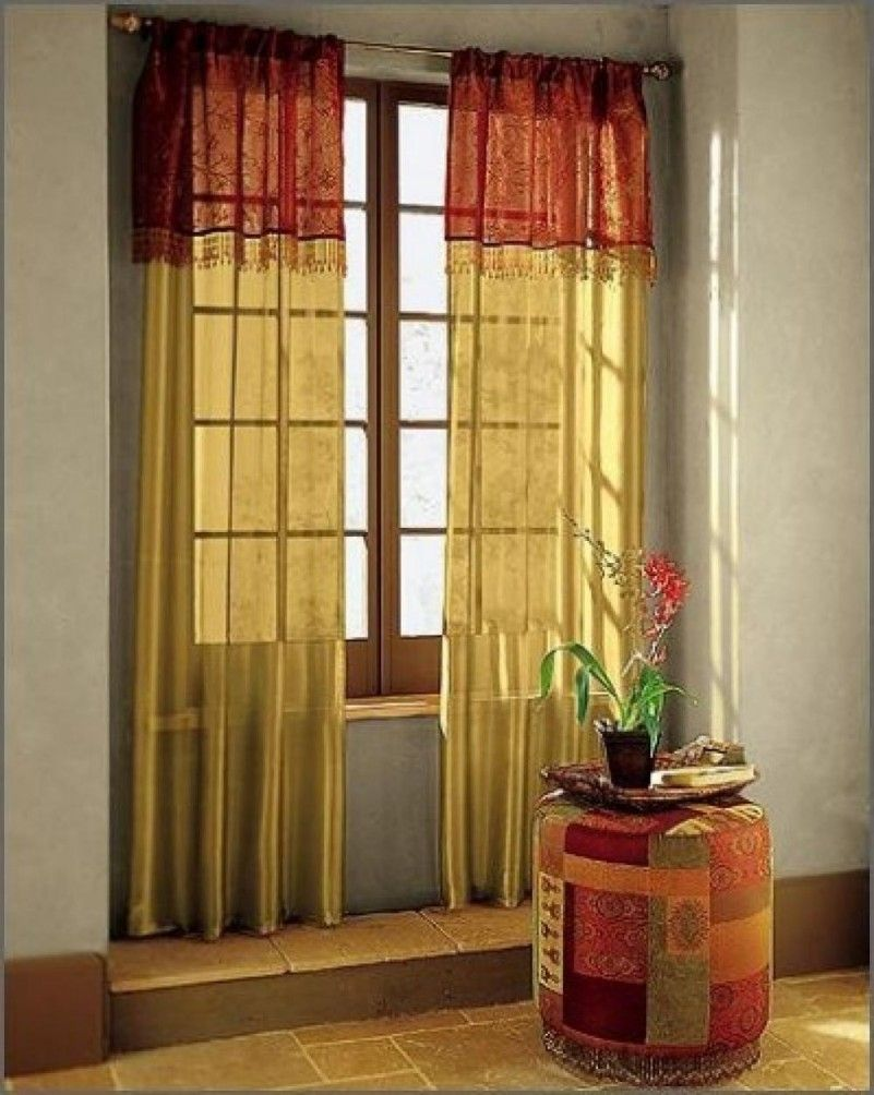 Flowers at the pot with asian style curtains best interior curtain design choices home decoration also rh pinterest