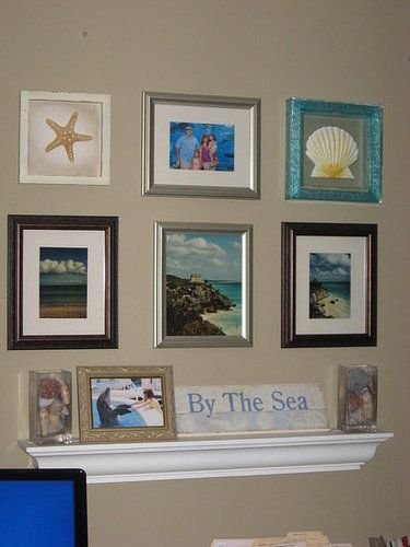 My 3 Wall Collages Wall Collage Office Craft Space Office Crafts