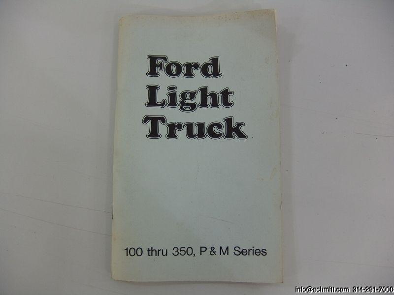 1974 FORD F-100 SHORT-BED STYLESIDE – Daniel Schmitt & Co. Classic Car Gallery