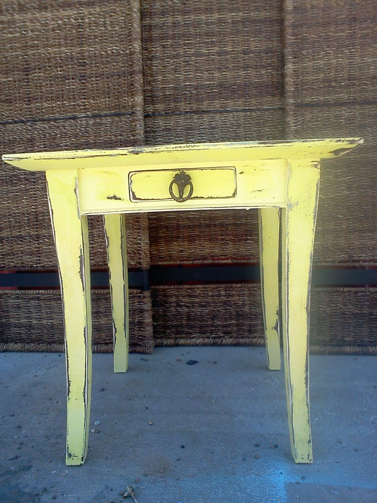 Pale Yellow French End Tables Google Images Painted Furniture End Tables Cottage Style
