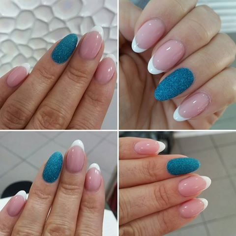 paznokcie #nailart #gelnails #hend #beauty #nails #french #manicure ...
