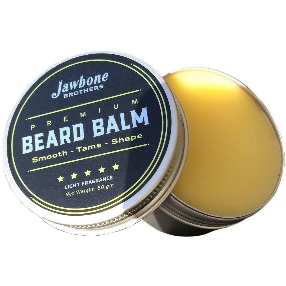 Energizing Citrus Men's Beard Balm + Hand Crafted Wooden