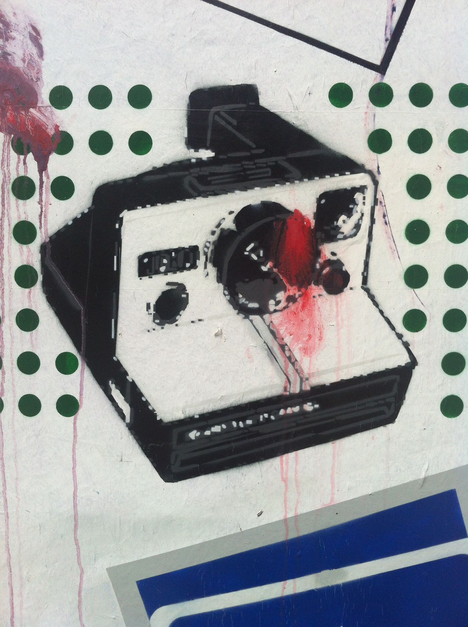 Camera graffiti from Portsmouth