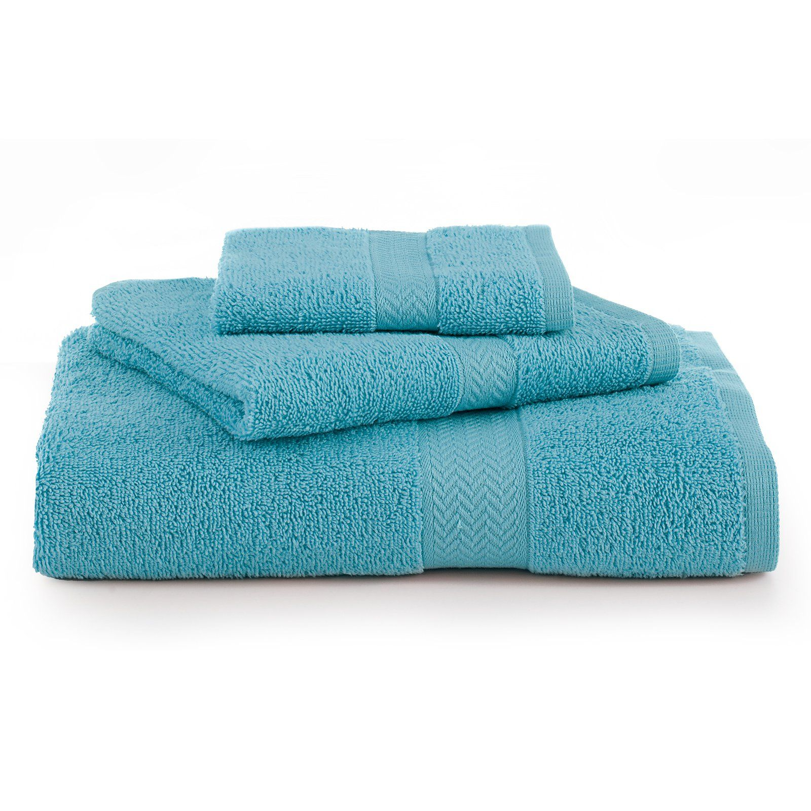 Pack SPACES 100/% Supima Cotton Face Washers|Towels in Four Colour Choices 4