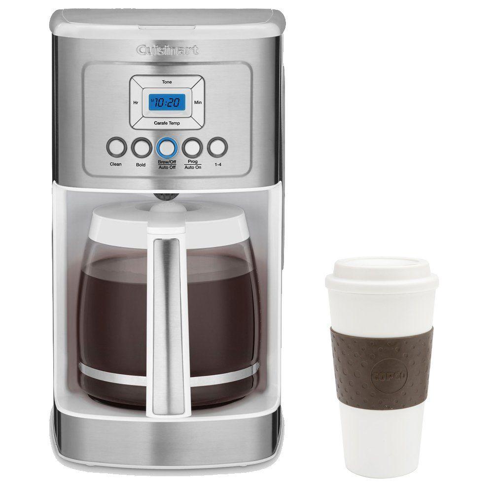 Black amp decker dcm1350 versabrew plus 12 cup programmable coffee maker - Cuisinart Dcc 3200w Perfect Temp 14 Cup Programmable Coffeemaker White W Copco